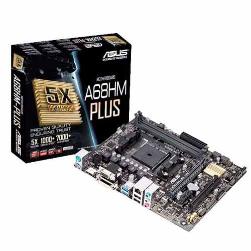 MOTHERBOARD ASUS AMD A68HM-PLUS.
